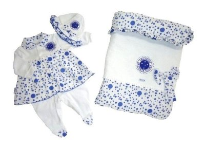 Kit Maternidade Cruzeiro Luxo Meninas Revedor