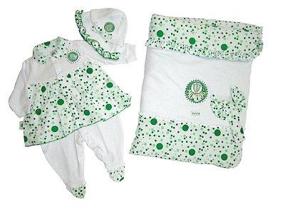 Kit Maternidade Palmeiras Luxo Meninas Revedor