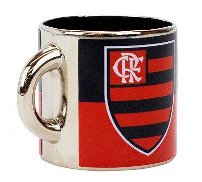 Mini Caneca Decorativa Ímã Metal 3.5cm Flamengo