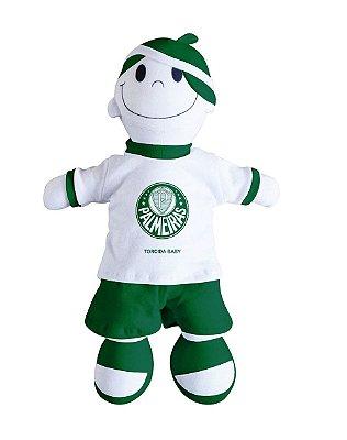 Boneco Torcedor Palmeiras 25cm Torcida Baby