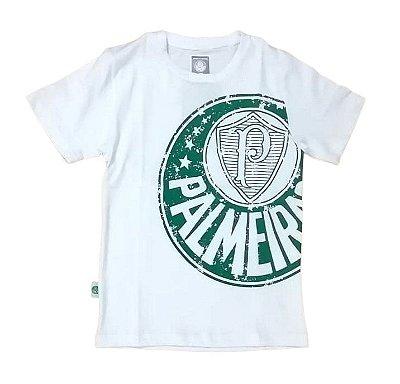 Camisa Infantil Palmeiras Branca Glorioso Oficial