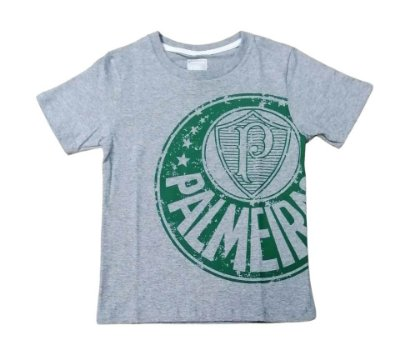 Camisa Infantil Palmeiras Cinza Glorioso Oficial