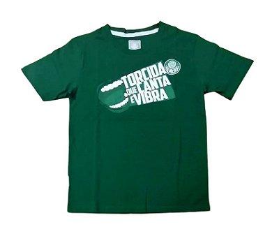 Camisa Infantil Palmeiras Verde Torcida Oficial