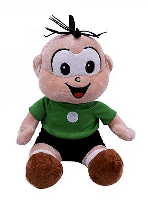 Pelícia Boneco Cebolinha Sentado 19 cm
