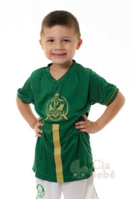 Camiseta Infantil Família Palmeiras