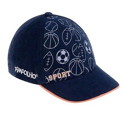 Boné Infantil Azul Marinho Sport Pimpolho