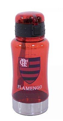 Garrafa De Plástico 500ml Flamengo Oficial