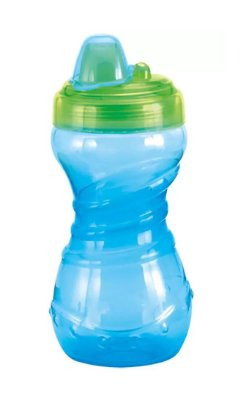 Copo De Treinamento Bico Rigido Verde 330 ml - Kuka