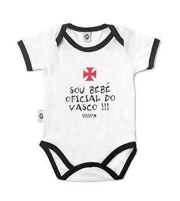 "Body Vasco ""Bebê Oficial"" Revedor"