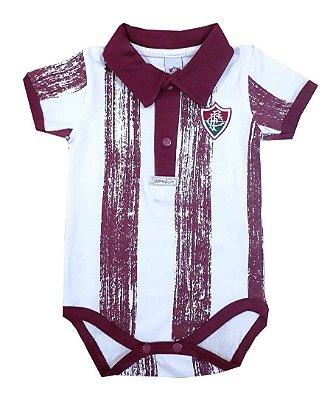 Body Bebê Fluminense Listras Oficial