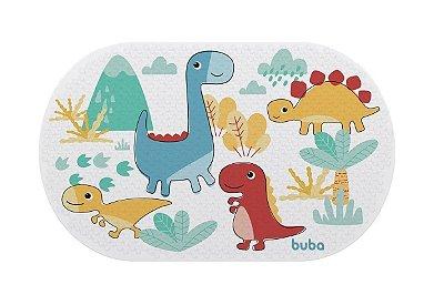 Tapete Transparente Para Banho Bebê Dino Buba