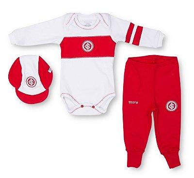 Kit Bebê Internacional 3 Pçs Longo Oficial
