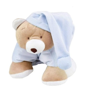Meu 1° Puppet Urso Nino Azul Zip