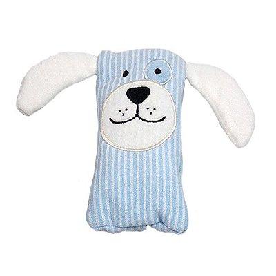 Bolsa Térmica Abdominal Bebê Cachorrinho Azul Zip