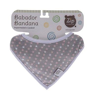 Babador Bandana Impermeável Estrelinha - Zip