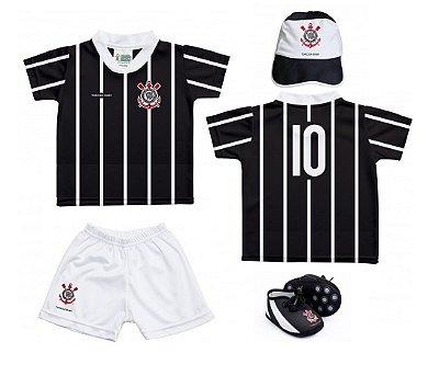 Kit Bebê Corinthians 4 Peças - Torcida Baby