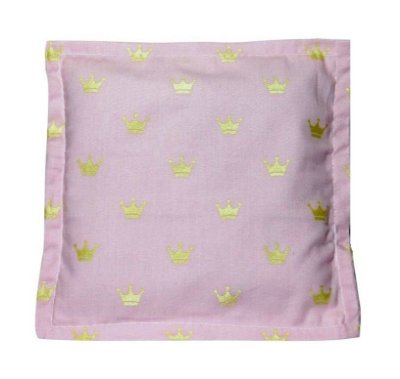Bolsa Térmica Sementes Bebê Sem Cólica Coroa Rosa