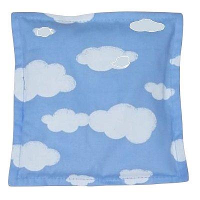 Bolsa Térmica de Sementes Bebê sem Cólica Céu Azul