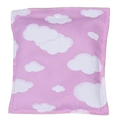 Bolsa Térmica de Sementes Bebê sem Cólica Céu Rosa