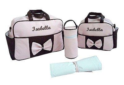 Kit Bolsas Maternidade Personalizadas 5 Pçs