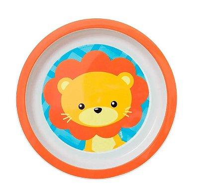 Pratinho Infantil Animal Fun Leãozinho - Buba