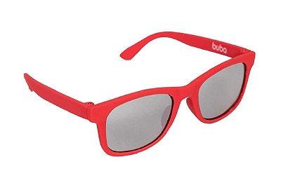 Óculos De Sol Infantil Vermelho Buba