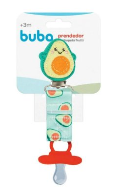 Prendedor de Chupeta Frutti Avocado Buba