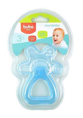 Mordedor e Chocalho Azul Bebê Buba