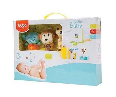 Móbile Baby Musical Animais - Buba