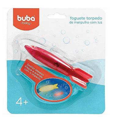 Foguete Torpedo de Mergulho Com Luz Vermelho Buba