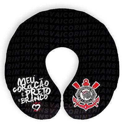 Almofada De Pescoço Corinthians Meu Coracão Oficial