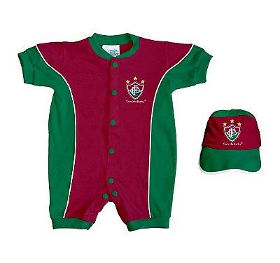 Kit Bebê Fluminense 2 Peças Curto - Torcida Baby