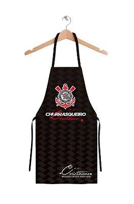Avental Masculino Corinthians Churrasco Oficial