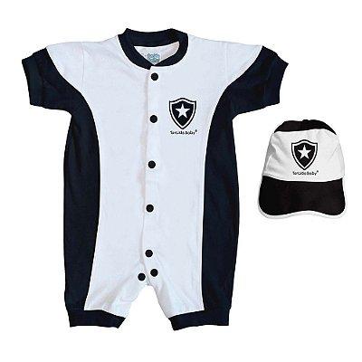 Kit Bebê Botafogo 2 Peças Curto - Torcida Baby