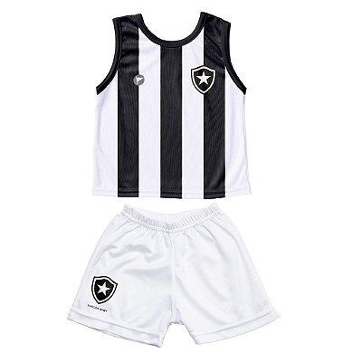 Conjunto Botafogo Bebê Regata - Torcida Baby