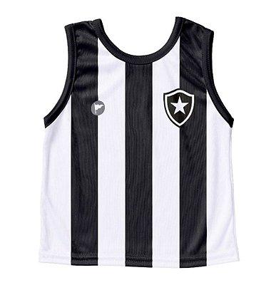 Camiseta Bebê Regata Botafogo - Torcida Baby