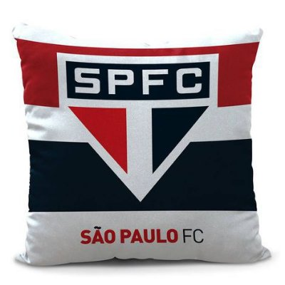 Almofada São Paulo Listras 45cm Oficial