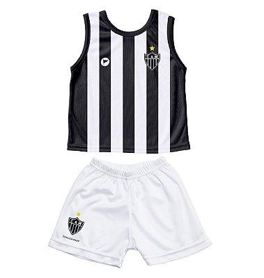 Conjunto Atlético MG Bebê Regata - Torcida Baby