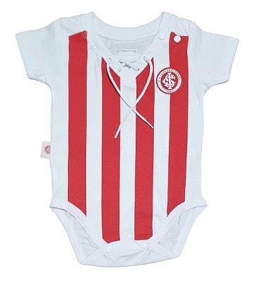 Body Bebê Internacional Listras Retrô Oficial
