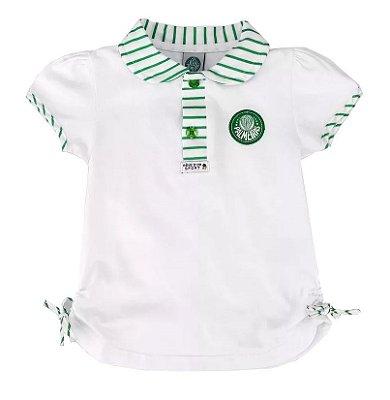 Camiseta Palmeiras Polo Infantil MA Oficial
