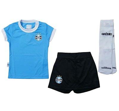 Uniforme Infantil Grêmio Artilheira Feminino Oficial