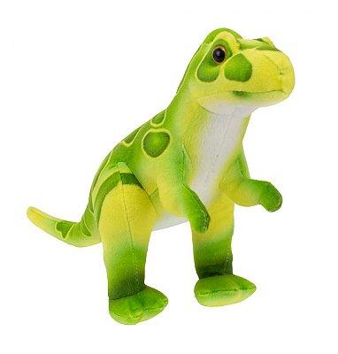 Pelúcia Dinossauro Verde 21cm