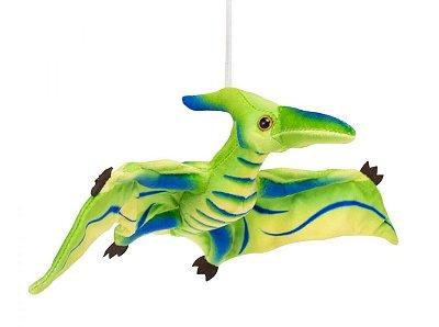 Pelúcia Dinossauro Verde Pterodáctilo 41cm