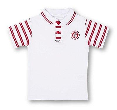 Camisa Polo Infantil Internacional MO Oficial