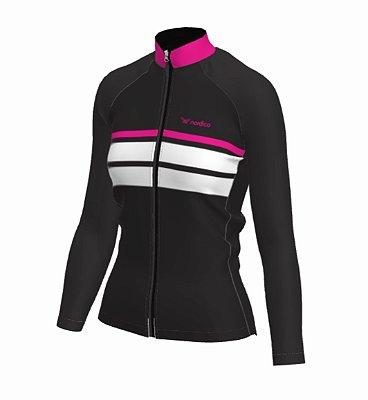 Camisa ciclismo feminino manga longa samanta ref 1170 c2