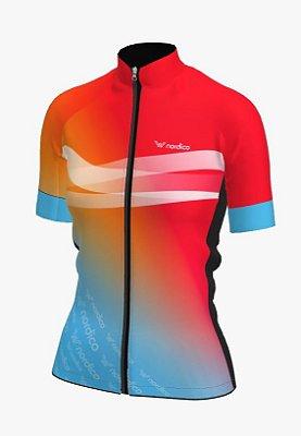 camisa ciclismo feminino nordico Califórnia ref 1339 c1