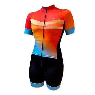 macaquinho ciclismo feminino Califórnia ref 1336 m29