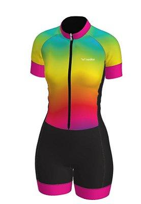 macaquinho ciclismo feminino iris ref 1327 m12