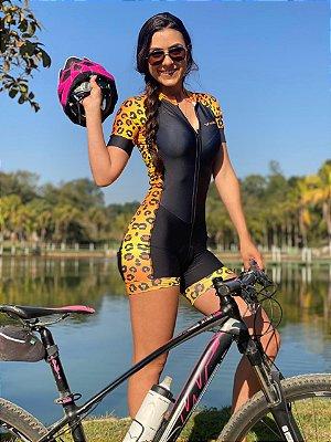 macaquinho ciclismo feminino onça ref 1138 m12