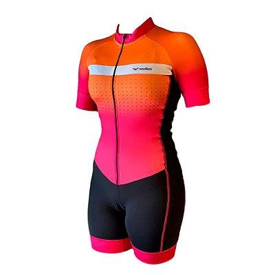 macaquinho ciclismo feminino kitana ref 1340 m12